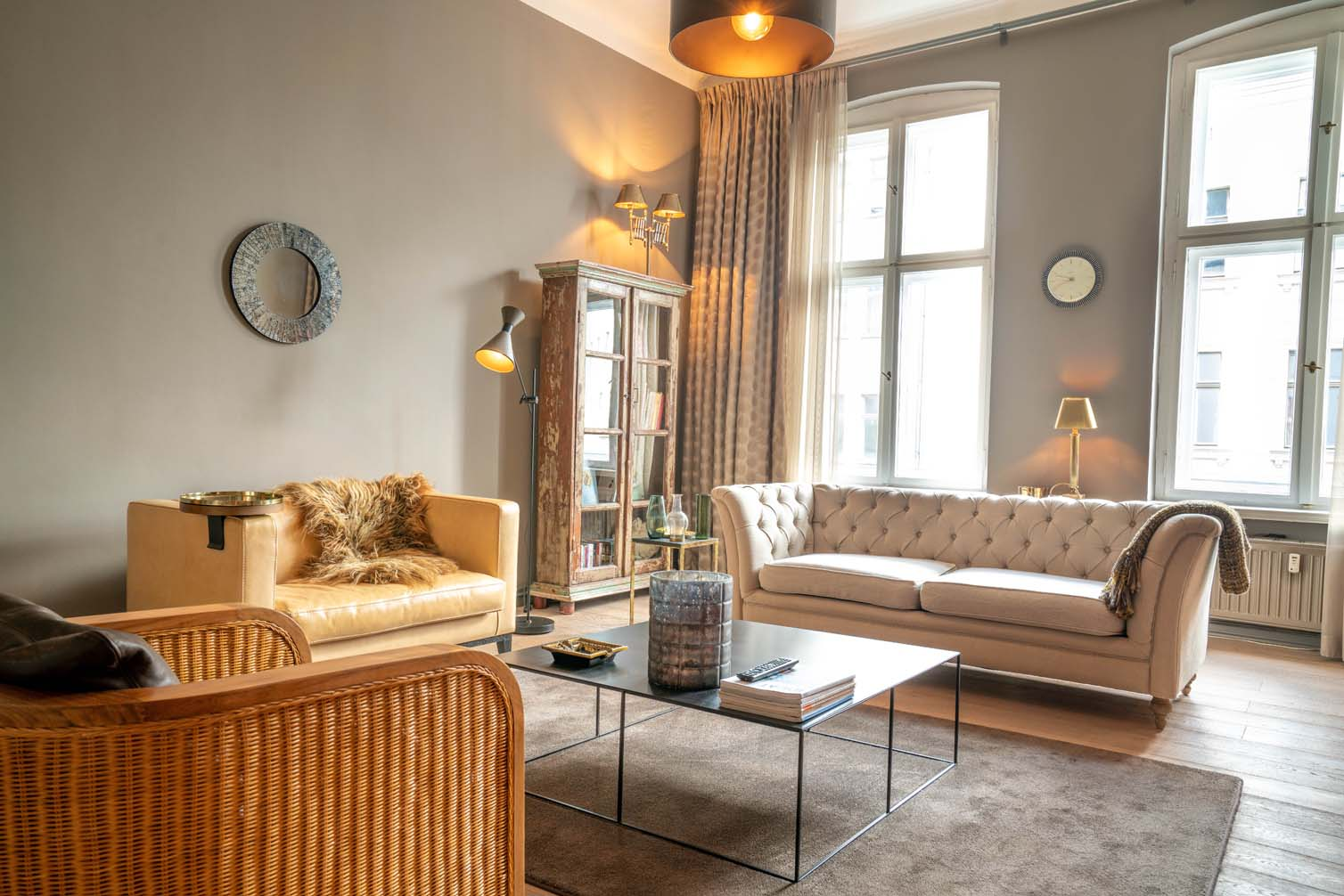 stylish apartment in Belrin Mitte