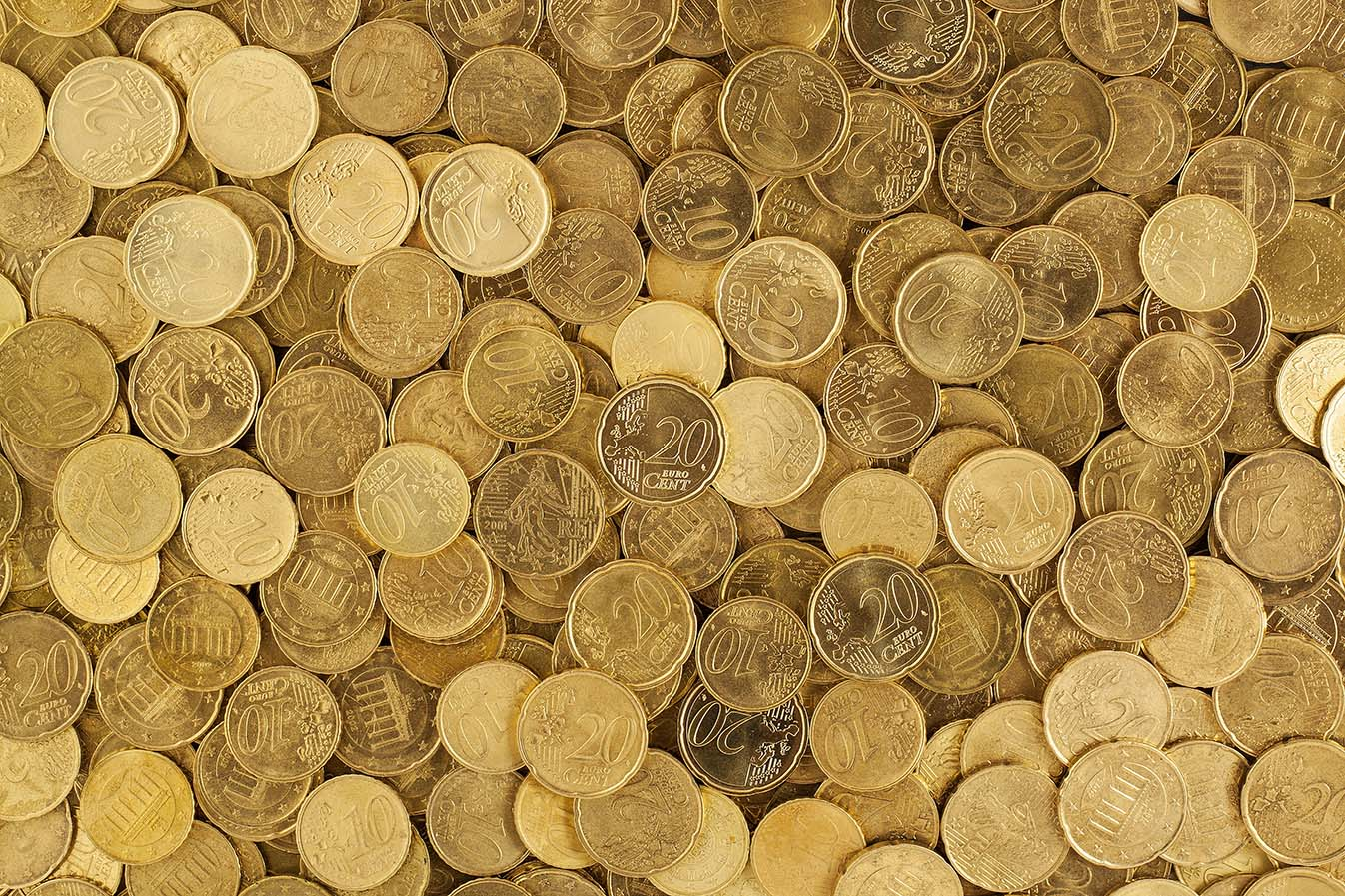 20 cent coins