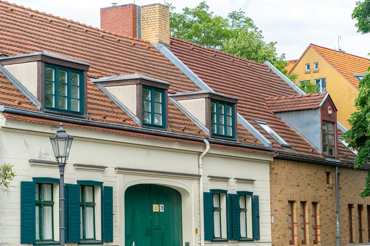 old houses in Rixdorf Neukölln