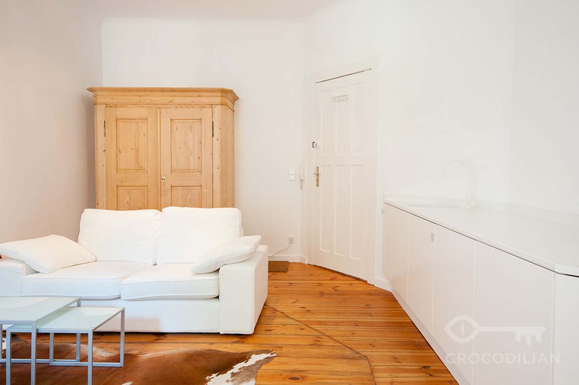 Stylish 1,5 Room- Loft in charming Area, Kreuzberg, Fichtestr.