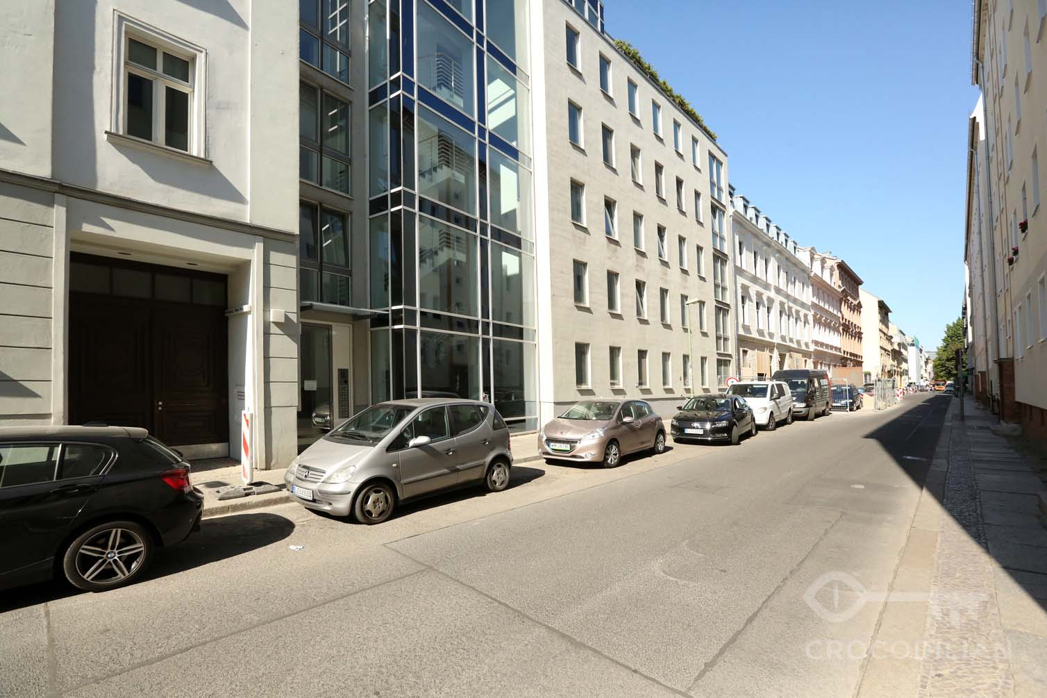 City Living near Hackescher Markt: Bright and quiet 2-Room Flat, Gipsstr.
