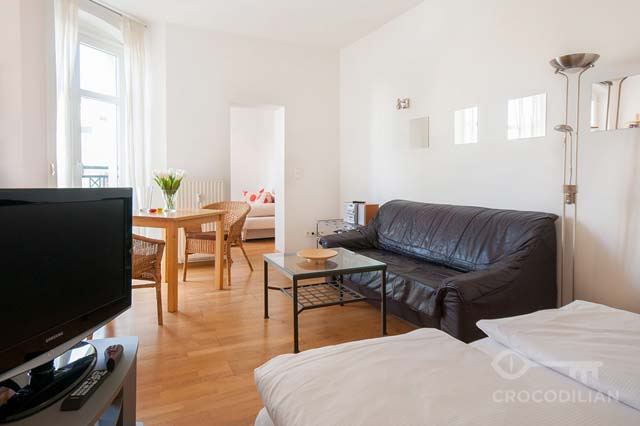 1,5 Room Flat in Charming Street in Mitte