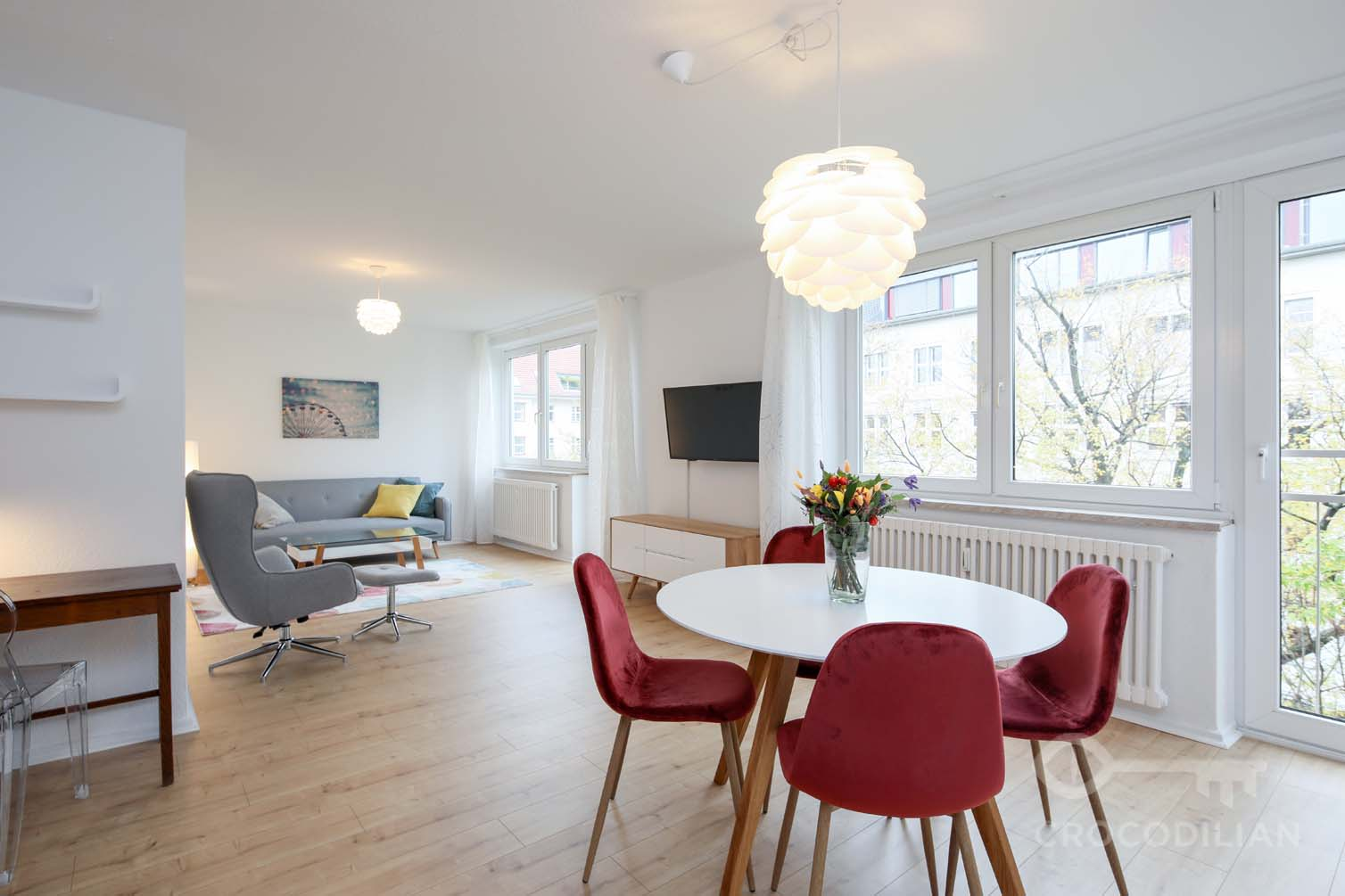 Sunny 2-Room Apartment, Kufsteiner Str.