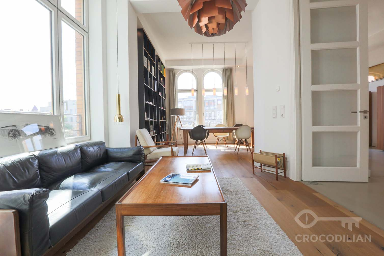 Stylish Studio With Bathroom Shared Kitchen Living Dining Room Schonhauser Allee