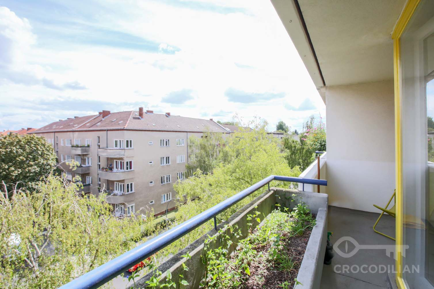 Bright and quiet 1-Room Apartment  with Balcony, Schlangenbaderstr