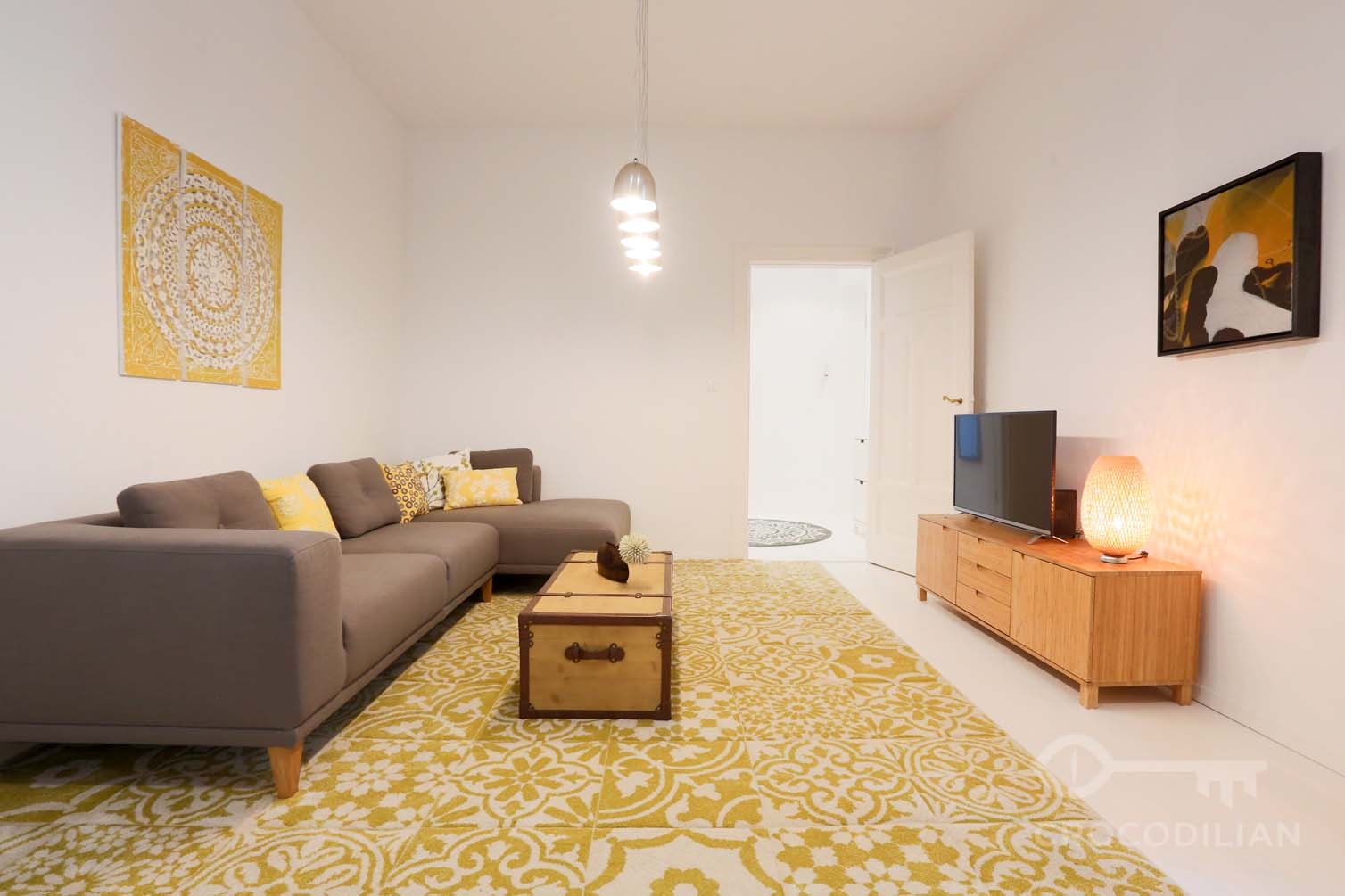 Exclusive Design 3,5 -Room Apartment, 2 Bedrooms, close to Potsdamer Platz, Zimmerstr.