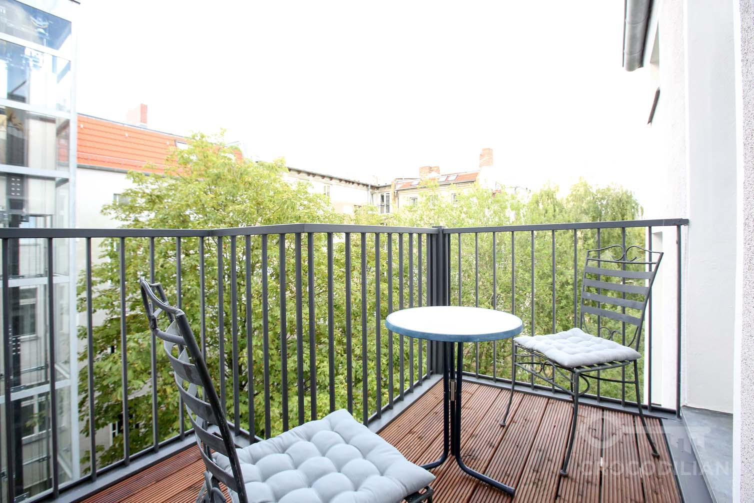 Modern 2-Room Flat in Prenzlauer Berg, Christburger Str.