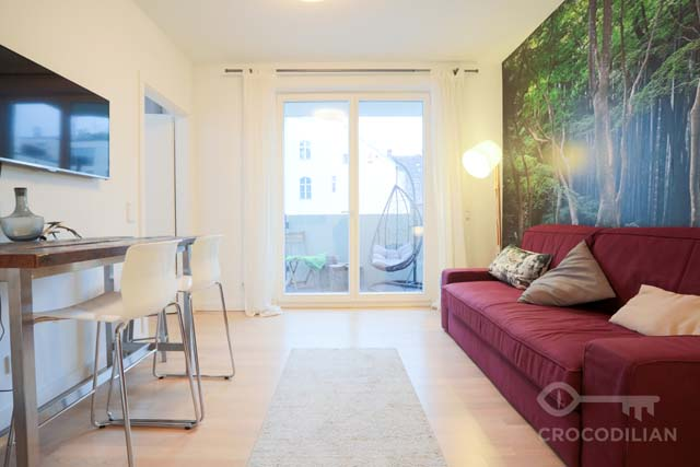Modern 2 Room Apartment in new Building in Mitte
