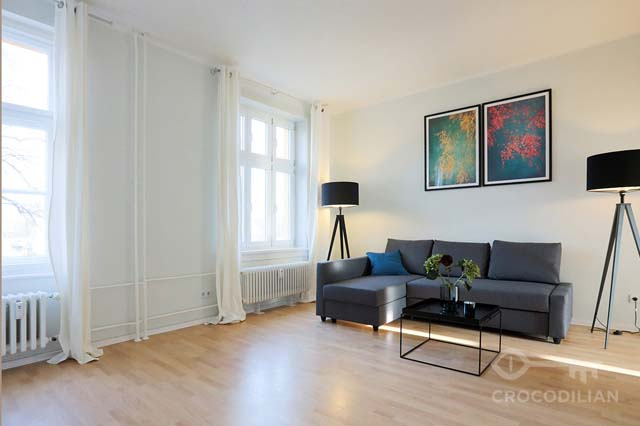 Stylish 2-Room Flat close to Main Station in Mitte