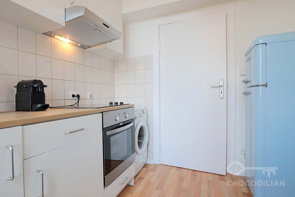 Modern 2-Room Flat close to Hauptbahnhof, Parking incl., Seydlitzstr.