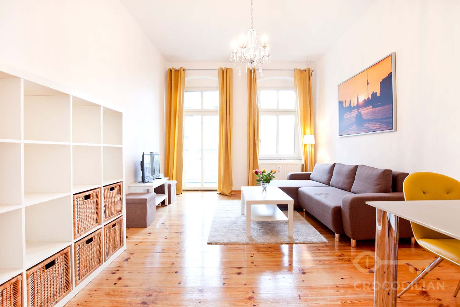 Charming Altbau 2-Room Flat with Balcony, Stubnitzstr.