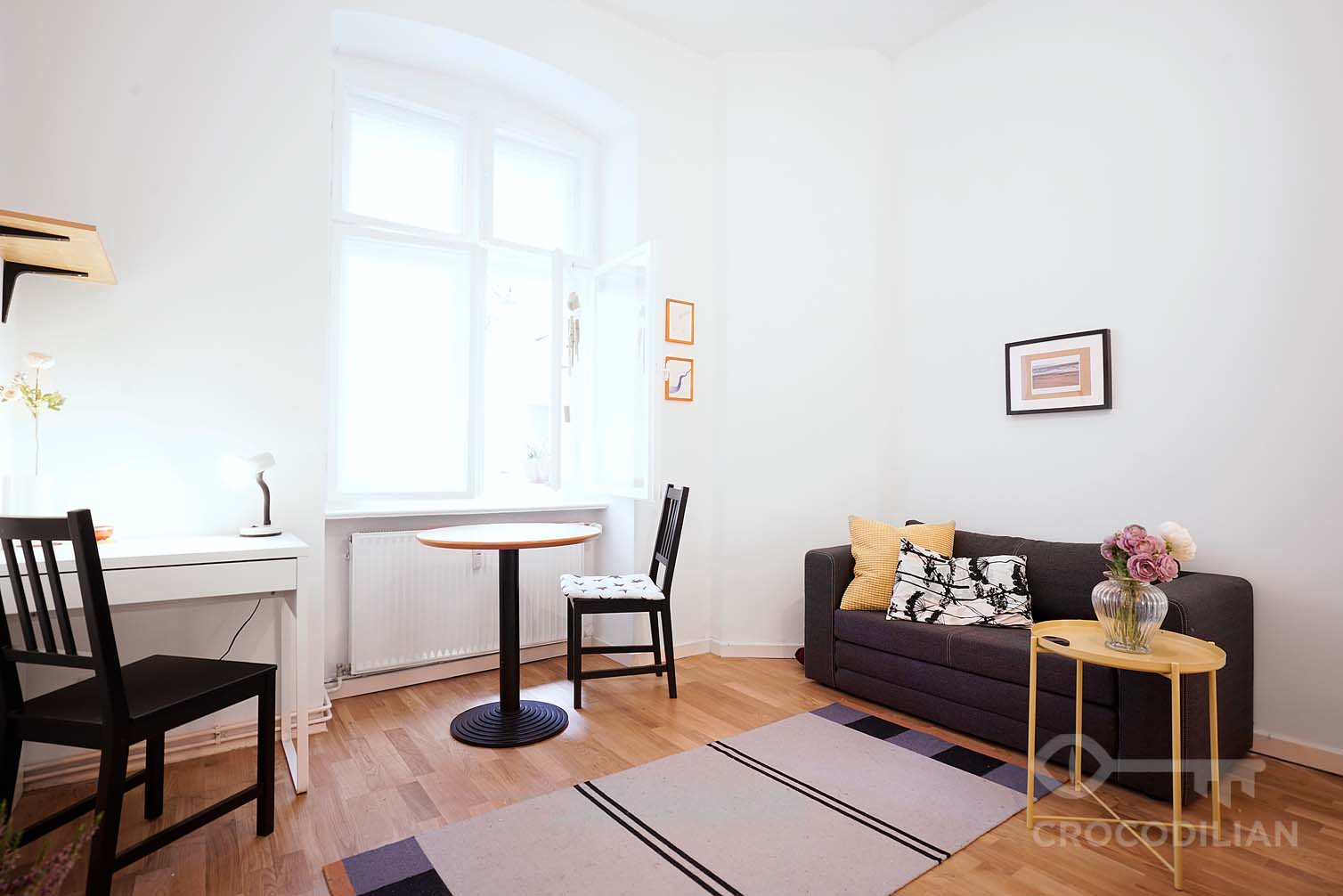 Cosy Living: Quiet studio in Leberstr.