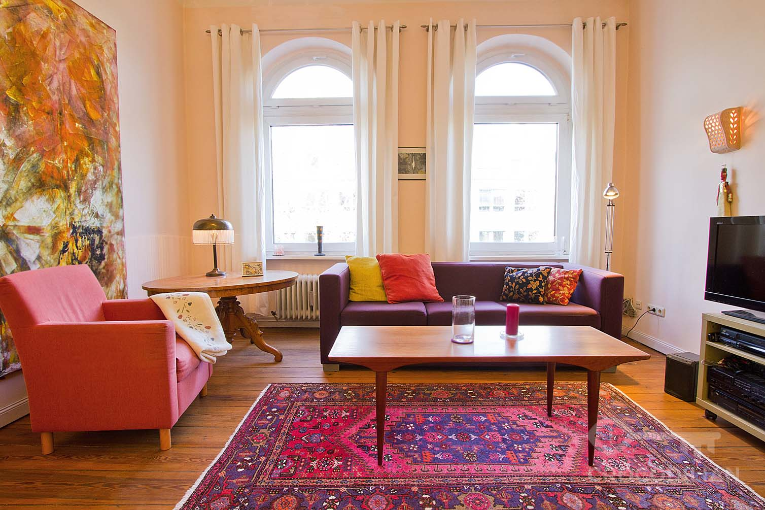 Spacious and Bright Flat with 3 Bedrooms in Kirchstr.