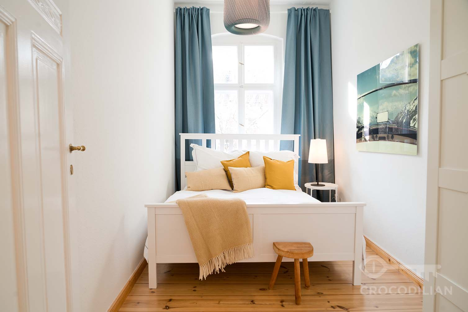 Gorgeous Design Apartment with Balcony in Schöneberg