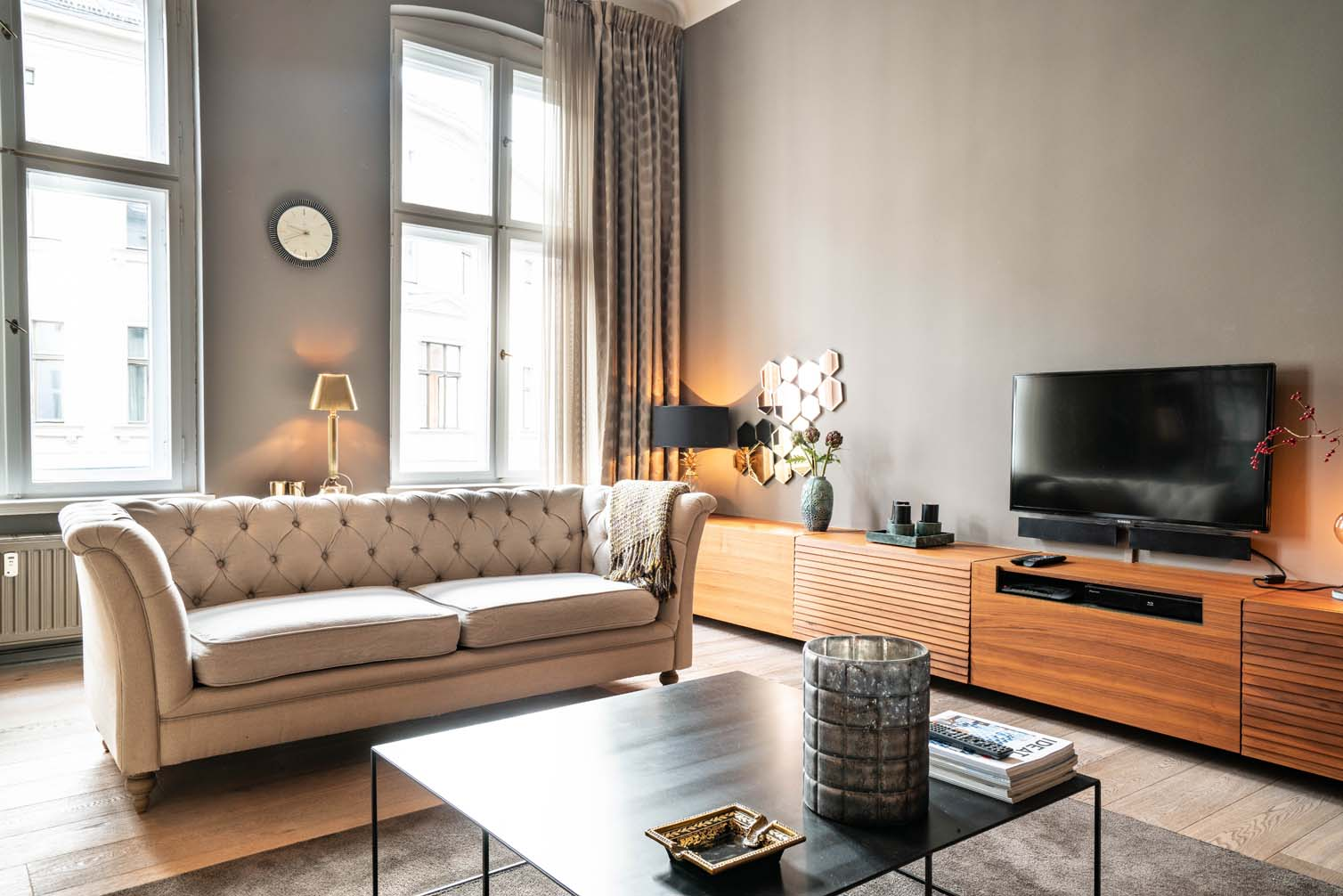 Classy, Tasteful and Comfy in the Middle of Mitte