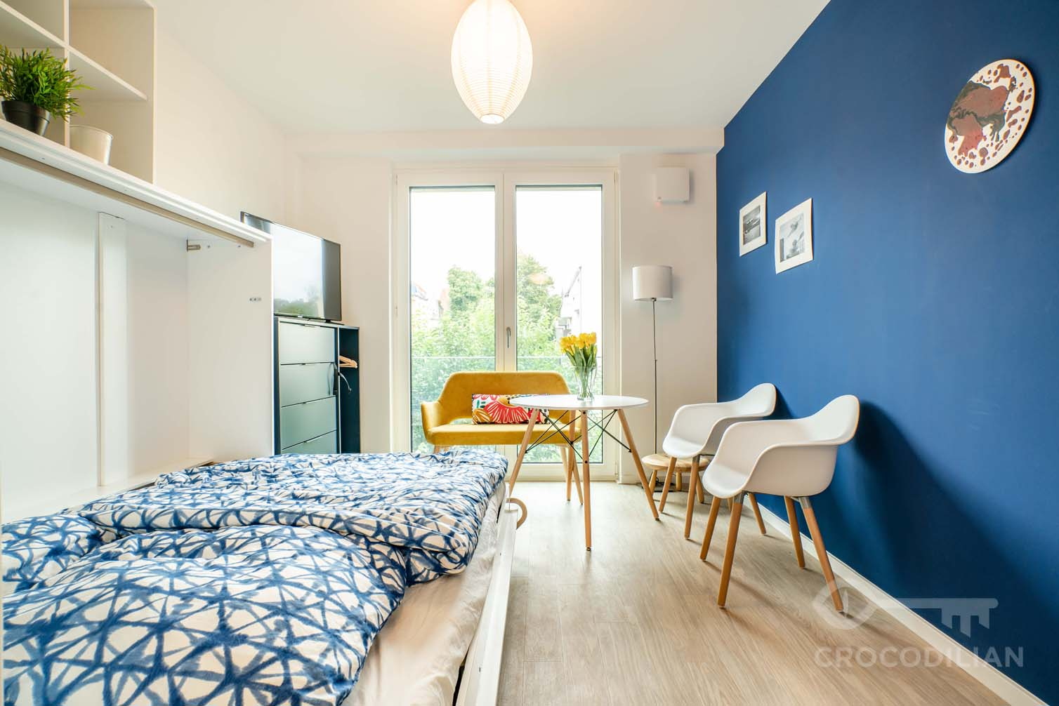 Small & furnished with all you need: Studio close to Tempelhofer Feld