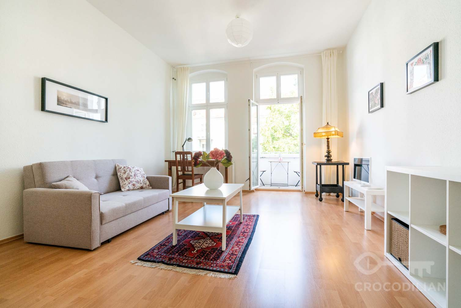 Beautiful and quiet 2-Room Flat in Pankow, close to S-Bahn