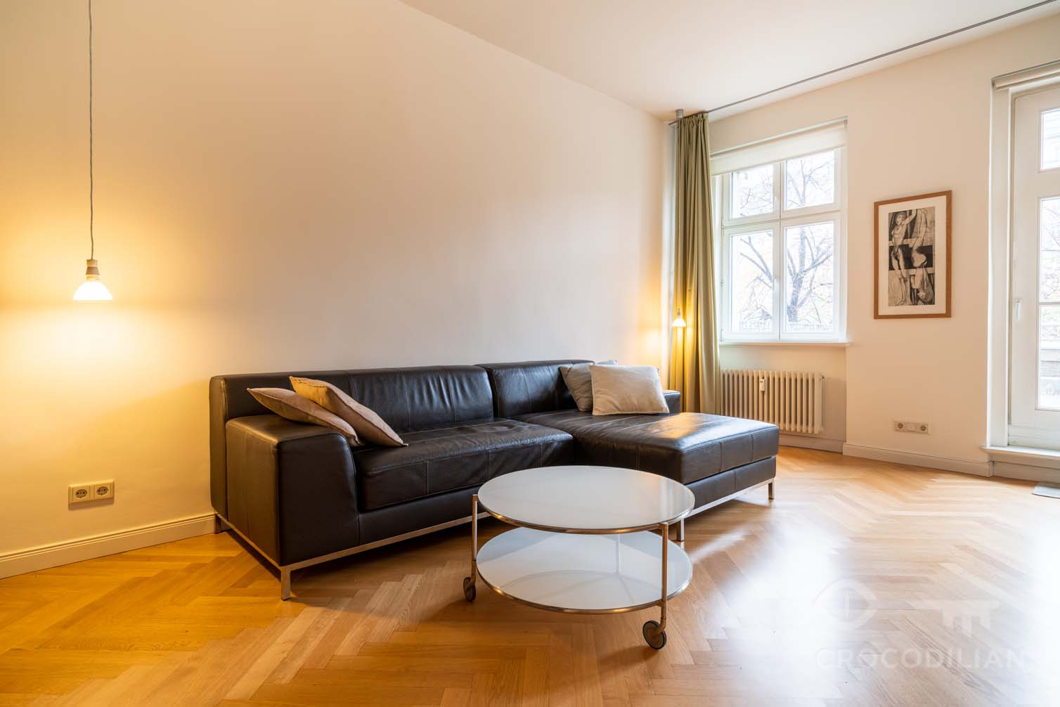 Beautifully designed Friedrichshain two-room apartment