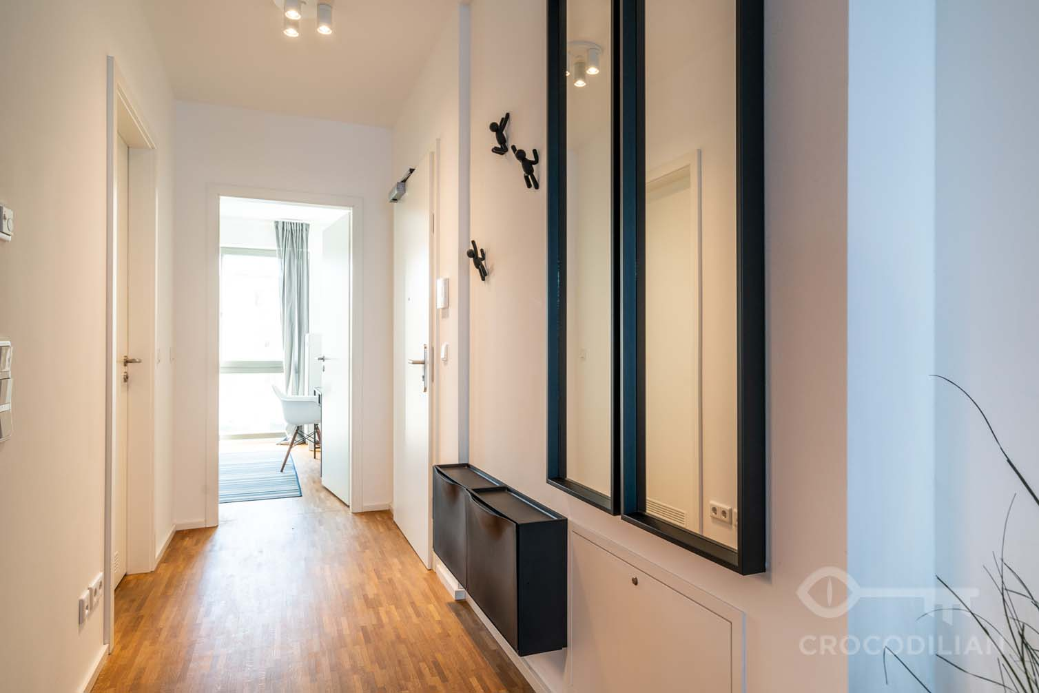 Luxurious 2-Room Apartment with Balcony in Mitte, bordering Kreuzberg