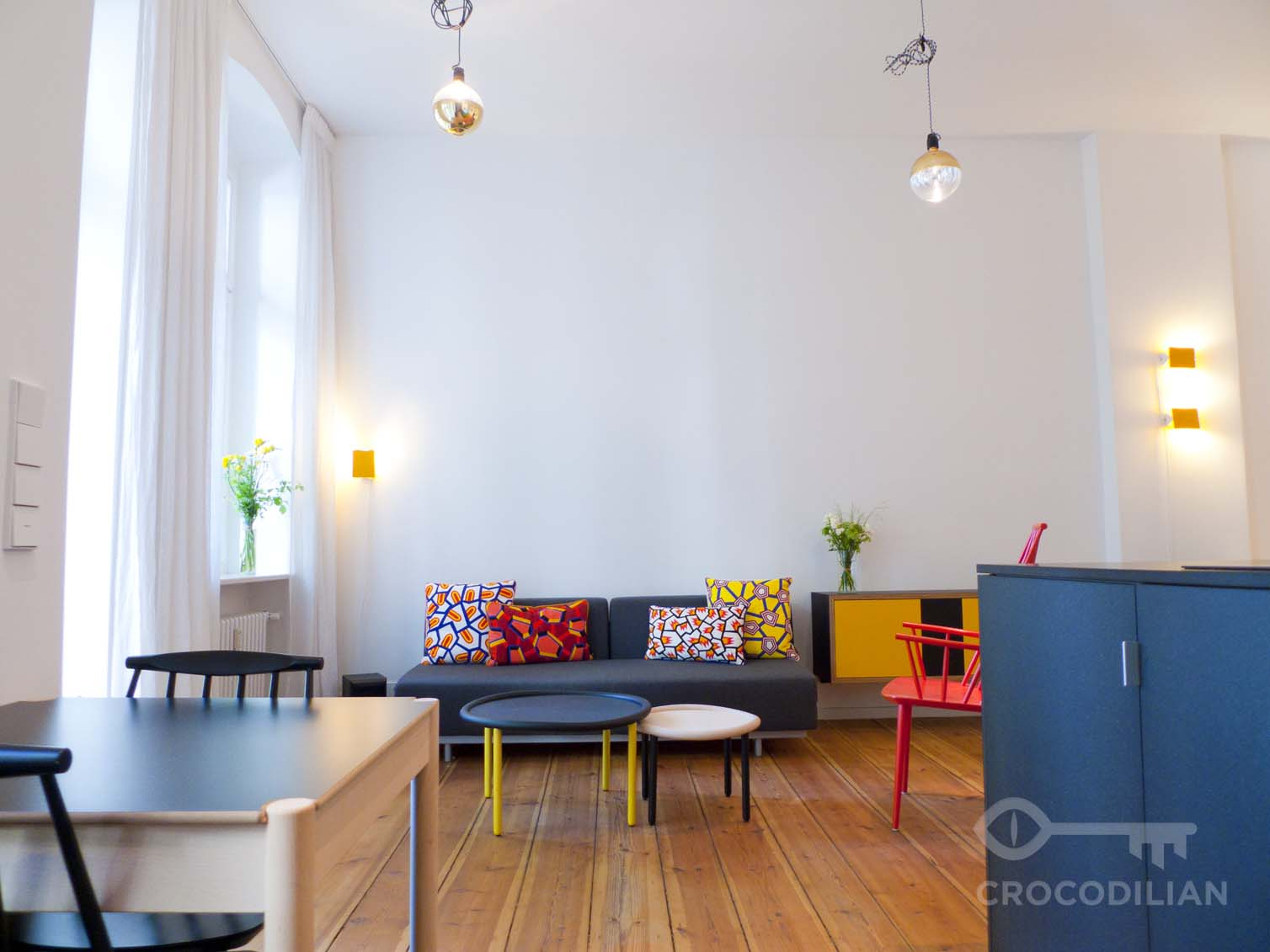 Beautiful Flat with Balcony near Canal in Kreuzberg